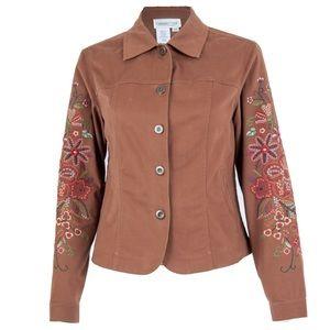 Vintage Embroidered western Jacket